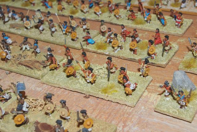 armée osma dinga 15 mm terminée 09gd32