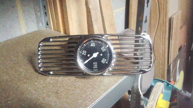North Hollywood Speedometer compte tour ovale 54 26ezb1