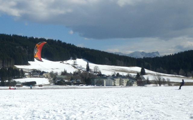 Snowkite, Autrans  24c16q