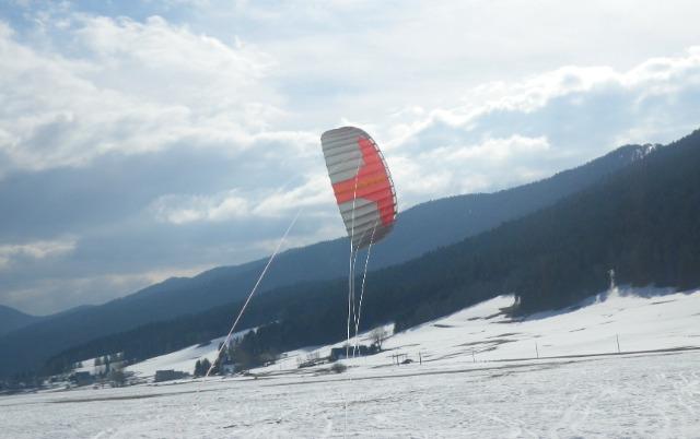 Snowkite, Autrans  24l2rv