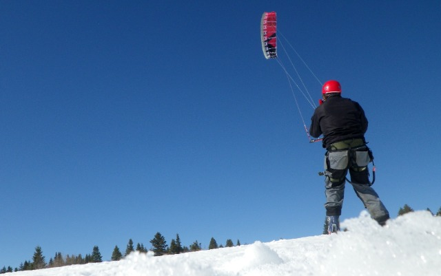 Snowkite, Autrans  06wr1k
