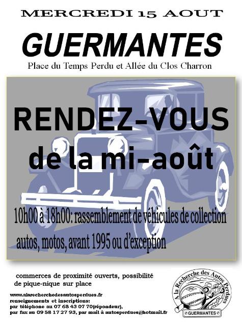 GUERMANTES - RDV de la mi Aout - 15 Août 2018 12l72x
