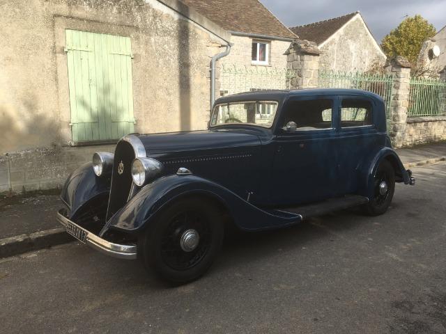 """Peugeot 601D, première main """"de famille"""" de 1934 ! 161yvp"""