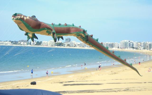 Les très gros-cerf volants : pieuvre, ours, raie manta, tortue, crocodile, baleine 23hm97